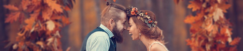 Drewniane skrzynki na zdjęcia ślubne